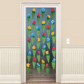 Tiki Leaf Door Curtain 78in