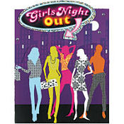 Girl's Night Out Invitations 8ct