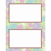 Floral Celebration Printable Invitations 24ct