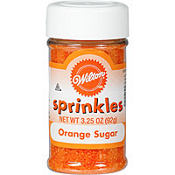 Orange Sugar Sprinkles 3.25oz