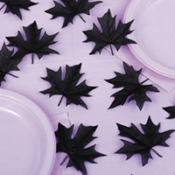 Dreary Glitter Leaf Table Sprinkles 1oz 24ct
