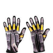 Child Transformers Bumblebee Gloves
