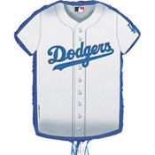 Los Angeles Dodgers Pull String Pinata 23in x 18in