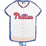 Philadelphia Phillies Pull String Pinata 23in x 18in