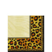 Safari Chic Beverage Napkins 16ct