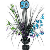 The Party Continues 50th Birthday Spray Centerpiece