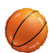 Basketball Foil Balloon 18in
