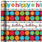 Modern Birthday Gift Wrap