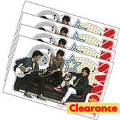 Jonas Brothers Notebook Decal Stickers 4ct