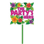 Summer Party Yard Sign 15in