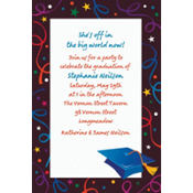 Grad Celebration Custom Graduation Invitation