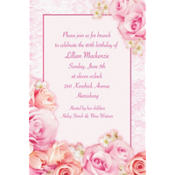 Blossom Custom Invitation