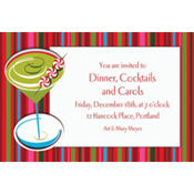 Holiday Buzz 2 Custom Invitation