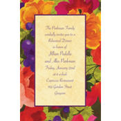 Bright Blooms Custom Invitation
