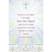 Custom Joyous Celebration Religious Invitation
