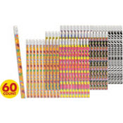 Girl Pencils Mega Value Pack 60ct