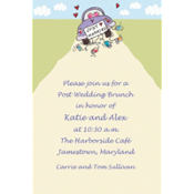 Just Married Custom Invitation