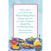 Summer Picnic Custom Invitation
