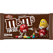 Milk Chocolate M&M's Fun Size Packs 21ct