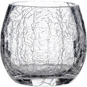 Crackled Votive Candle Holder 2.5in