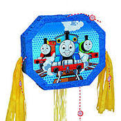 Pull String Thomas The Tank Engine Pinata 20in