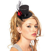 Mini Gothic Top Hat