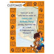 Go, Diego, Go! Custom Invitation