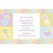 Baby's Nursery Custom Baby Shower Invitation