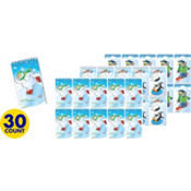 Winter Fun Notepads 30ct 17¢ per piece!