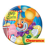 Big Top Birthday Dessert Plates 8ct