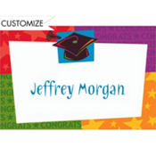 Way to Go Grad Custom Thank You Notes