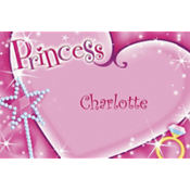 Princess Custom Thank You Note