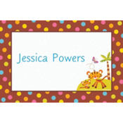 Custom Fisher Price Baby Shower Thank You Note