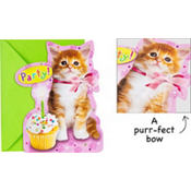 Cuddly Kitten Jumbo Invitations 8ct