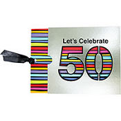 50th Birthday Jumbo Invitations 8ct