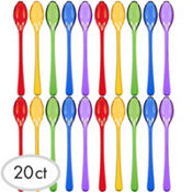 Jewel Tone Cocktail Spoons 20ct