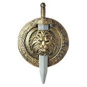 Gladiator Combat Shield and Sword Set