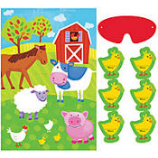 Barnyard Fun Party Game 4ct