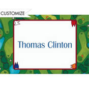 Golf Course Custom Thank You Note