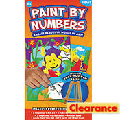 Boys Paint By Numbers Craft Kit