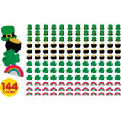 St. Patricks Day Mini Erasers 144ct<span class=messagesale><br><b>3¢ per piece!</b></br></span>