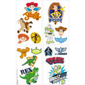 Toy Story 3 Character Tattoos 16ct