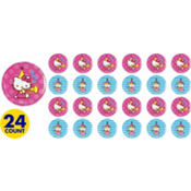 Hello Kitty Button 24ct