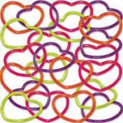 Heart Bracelets 48ct