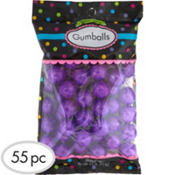 Purple Gumballs 55pc