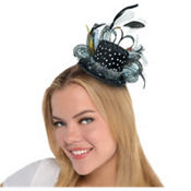 Deluxe Hollywood Mini Top Hat Headband