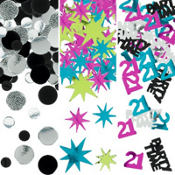 Age 21 Birthday Confetti 1.2oz