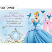 Cinderella Fantasy Custom Invitation