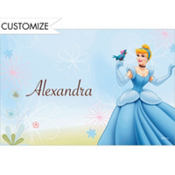 Cinderella Fantasy Custom Thank You Note