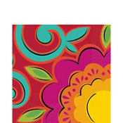 Fiesta Caliente Lunch Napkins 36ct